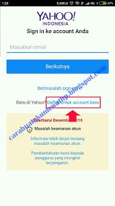 membuat yahoo mail via hp cara daftar email yahoo lewat hp lengkap beserta contoh gambar