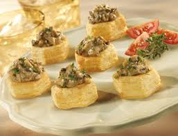 puff pastry canape ideas cups puff pastry