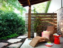 patio ideas cheap outdoor privacy screen ideas window options