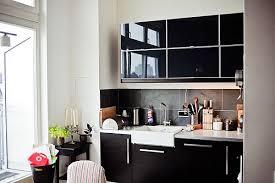 kitchen design black