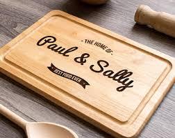 personalised cutting board custom cutting board personalised chopping board