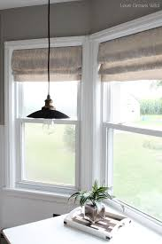 Mock Roman Shade Valance - trend of faux roman shade and diy faux relaxed roman shade