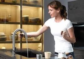 kohler sensate touchless sink faucets kohler k 72218 cp polished chrome sensate touchless kitchen faucet