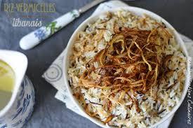 cuisiner vermicelle de riz riz aux vermicelles libanais le cuisine de samar