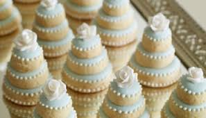Wedding Cake Cookies Bridal Luncheon Mini Wedding Cakes Love You Mean It