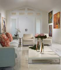 modern classic interior living room contemporary with vaulted
