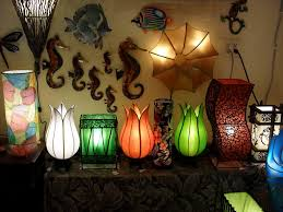 ala kalika rugs and lamps create your own exotic world silk flowering lotus lamps from vietnam copperdrip seahorses from mexico