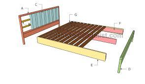 Building Platform Bed Platform Bed Frame Plans Howtospecialist How To Build Step By