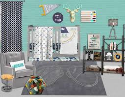 Hipster Decor Hipster Nursery Hipster Crib Bedding Hipster Nursery Decor