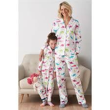 retail family matching pajamas dinosaur family