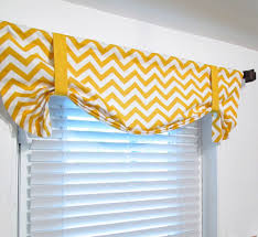Tie Up Valance Curtains Yellow Valance Curtains Curtains Ideas