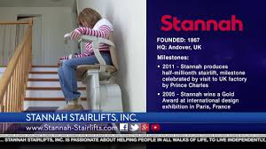 stannah stair lifts youtube