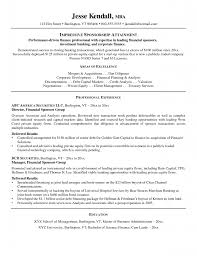 Personal Banker Sample Resume by Resume Resume For Personal Banker