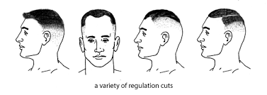 pictures of military neckline hair cuts for older men hudson s guide men s short haircuts and the barber shop