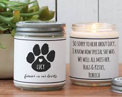 condolence gift loss of cat etsy