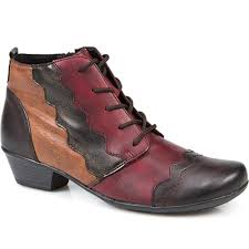 velvet lined casual ankle boot drs26500 by remonte dorndorf