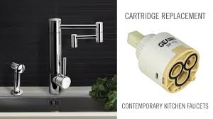 cartridge replacement on contemporary waterstone kitchen faucets