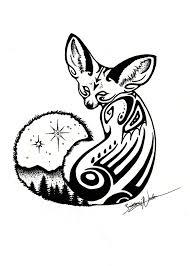 fennec fox by myownenchantment on deviantart
