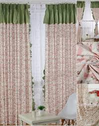 Pale Pink Curtains Pink Curtains With Green Top For Beautiful Home