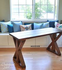 rustic x console table diy rustic x base console table the chronicles of home