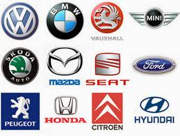 car logos the belief abaft car logos