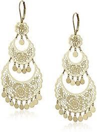 Long Chandelier Earrings Dangle Earrings Amazon Com 14k Yellow Gold Chandelier Earrings 1 5