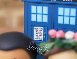 tardis wedding cake topper terrific doctor who meets vire slayer wedding cake topper