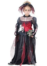 Corpse Bride Costume Kids Gothic Skeleton Corpse Bride Costume Kids Gothic Skeleton