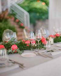 wedding reception table centerpieces 39 simple wedding centerpieces martha stewart weddings