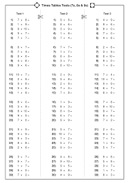 math time table worksheets koogra