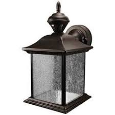 Outdoor Light Fixture With Outlet by Hampton Bay Mission Style Black With Bronze Outdoor Highlight Wall