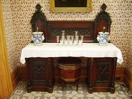 Gothic Revival Home Gothic Dining Room Table U2013 Home Decor Gallery Ideas