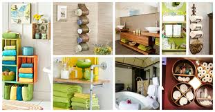 Unique Bathroom Storage Ideas 21 Creative Bathroom Towel Storage Ideas