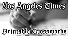 usa today crossword answers july 22 2015 la times crosswords for june 2015