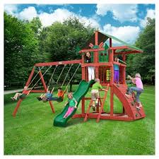 Big Backyard Playsets by Gorilla Playsets Swing Sets Slides U0026 Climbers Target
