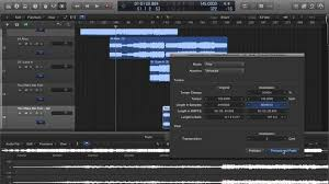 pro machine logic pro x time and pitch machine greyed out