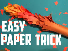 cool paper crafts really cool paper craft magic trick