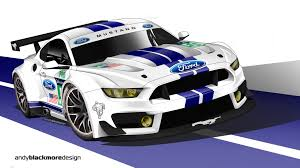 logo ford mustang shelby what if ford mustang gt350 gte race car andy blackmore design