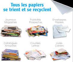 recyclage papier de bureau le tri des papiers semoctom