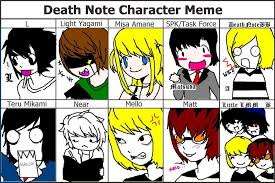 Funny Character Memes - another death note meme by deathnotebb on deviantart