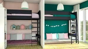 amenager une chambre pour 2 amenagement chambre pour 2 ado le rideau pour sacparer les 2 lits