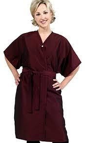 hair fashion smocks amazon com salon client gown client smock wrap by the cape
