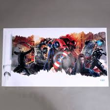 avengers home decor aliexpress com buy marvel u0027s the avengers wall sticker decals for