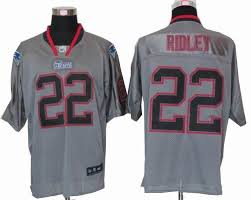 new england patriots lights nike new england patriots 22 stevan ridley lights out grey elite