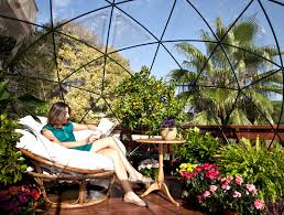 How To Build An Igloo In Your Backyard - the garden igloo is a pop up geodesic dome perfect for any