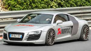 Audi R8 V12 - audi r8 v10 w akrapovic exhaust review brutal sound and