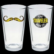 traveler beer images Traveler pint glass set of 2 traveler beer company png