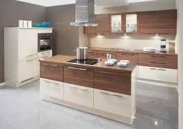 modern small brownwhite wooden kitchen island with many storage