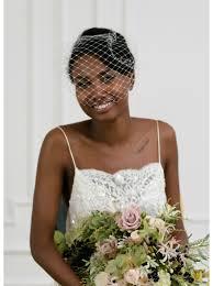 voilette mariage sia voilette de mariée rétro birdcage à larges mailles so hélo