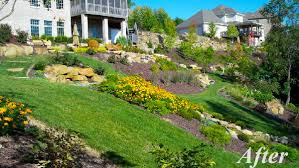 Backyard Hillside Landscaping Ideas Backyard Hillside Landscaping Ideas Three Rivers Landscape